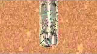 Процесс бурения скважины(Oil Drill Animation - Анимационный ролик демонстрирующий процесс бурения скважины трёхшорошечным долотом., 2011-05-16T07:50:43.000Z)