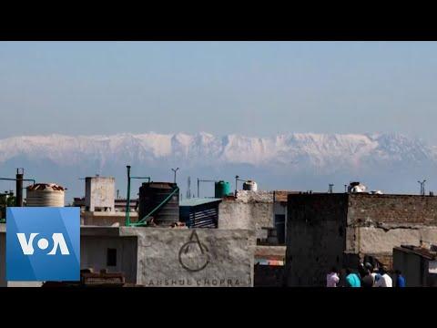 Air Quality Improves Amid India Coronavirus Lockdown