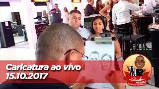 Caricatura ao vivo - 15/10/2017
