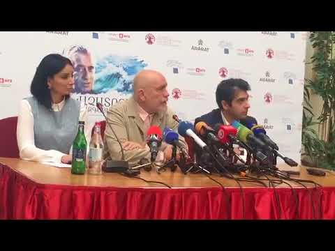 By NEWS.am STYLE. John Malkovich press conference in Yerevan