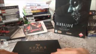 "UNBOXING "" Biohazard HD Remaster "" Collector's Edition (PS3 - E-CAPCOM) (Pt-Br)"