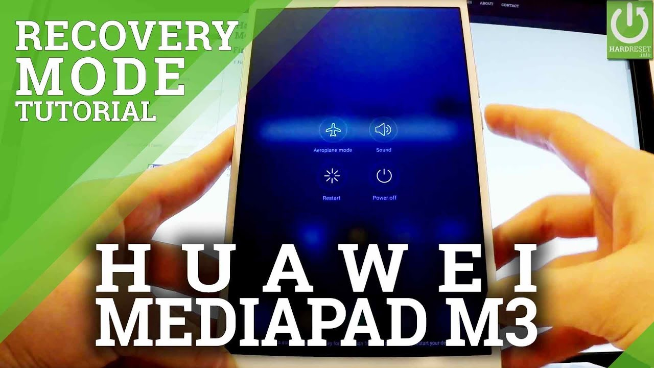 How to Enter Recovery Mode in HUAWEI MediaPad M3 - Exit Recovery