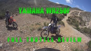 2007 Yamaha WR250F Review