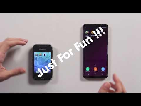 SpeedTest TROLL: Galaxy Y vs Galaxy S9 Plus - Yếu nhất vs Mạnh nhất