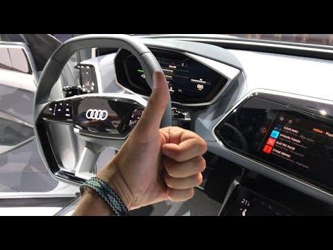 AUDI E TRON Обзор Электрический Автомобиль от АУДИ