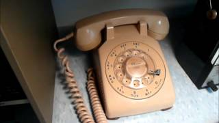 Vintage Rotary Telephones Still In Daily Use