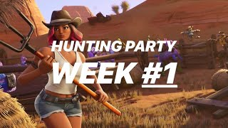 Fortnite: Hunting Party Week 1 Location [SECRET BATTLE STAR]