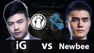iG vs Newbee - TI7 Main Event UB R2 - Dota 2