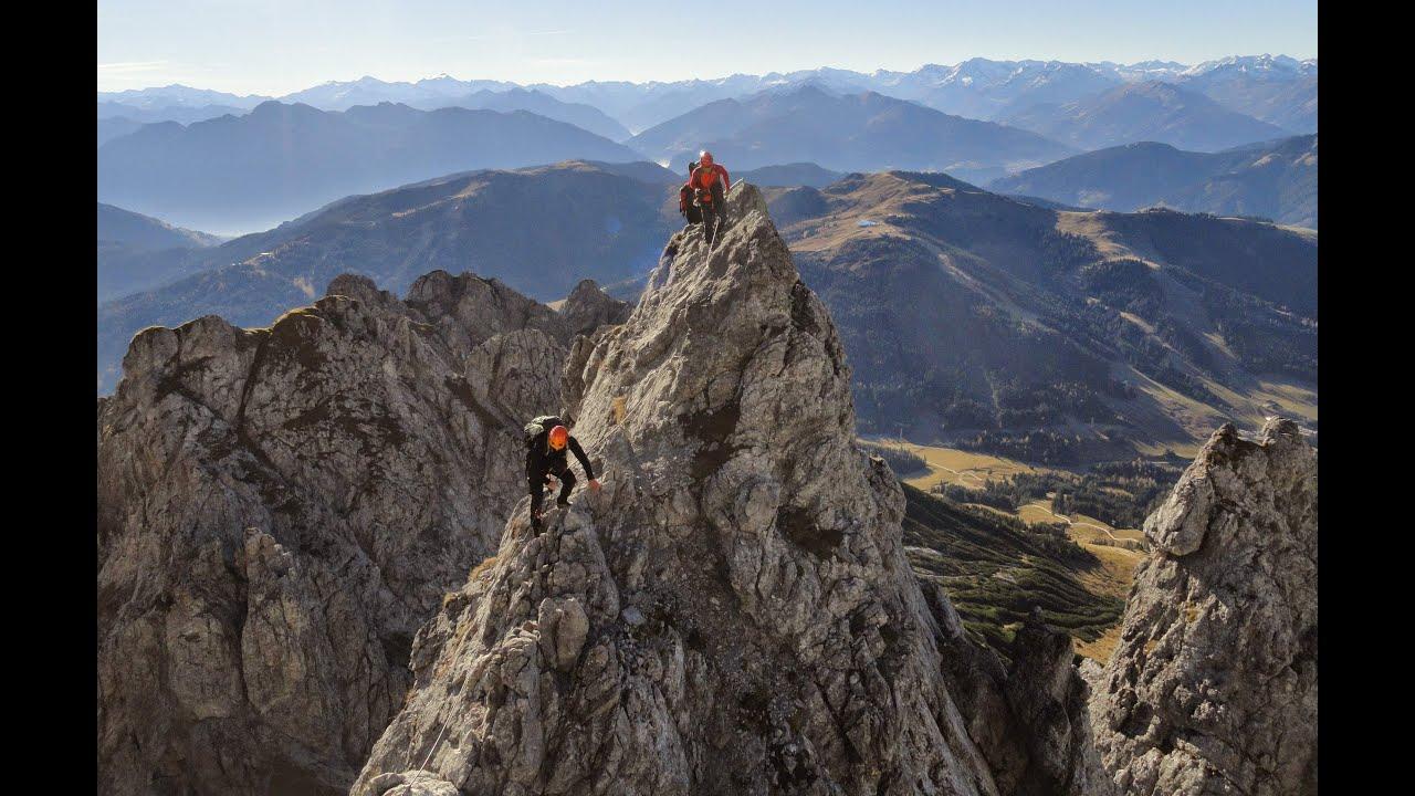 Klettersteig Hochkönig : Via ferrata königsjodler klettersteig hoher kopf