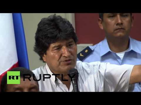 Panama: Morales blasts Obama, gives support to Cuba & Venezuela