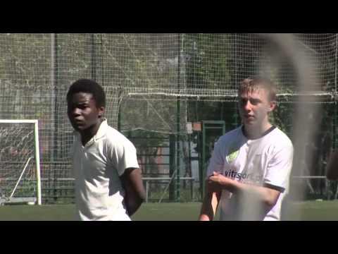 Reportaje en las pruebas de FOOTBALL TALENTS de Barcelona (2010)
