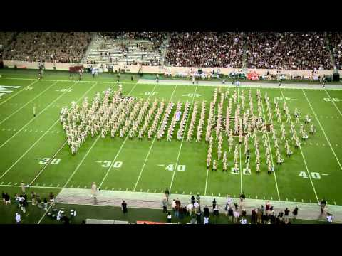 Texas A&M Halftime Drill  vs Mississippi state