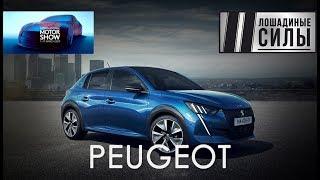 Peugeot E-208 2019 видео обзор