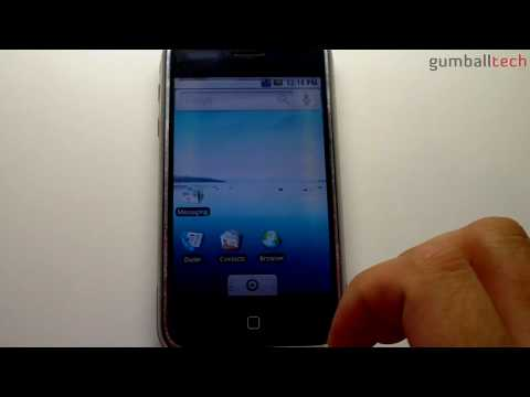 "Android 1.6 ""Donut"" on iPhone 2G"