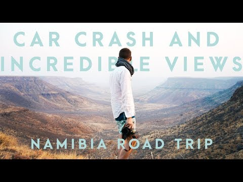 HUGE CAR CRASH AND THE BEST VIEW IN AFRICA? | Grootberg, Namibia