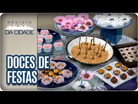 FESTIVAL DE BRIGADEIRO: Aprenda A Fazer Com Sabores Diferentes  - Revista Da Cidade (05/04/18)