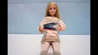 карандаши для кукол Барби в пенале как сделать своими руками Школьные принадлежности