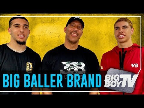 LaVar, LiAngelo & LaMelo Ball on JBA League, LeBron Coming to The Lakers & A Lot more