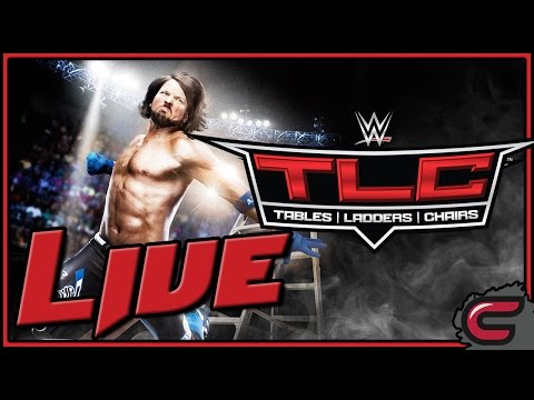 WWE Tables Ladders and Chairs Live December 4th 2016, Full Show/Live Reactions/Review/Highlights