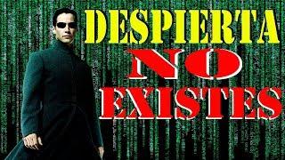 El codigo binario que forma la matriz de la realidad