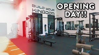 Opening The Gym: Opening Day