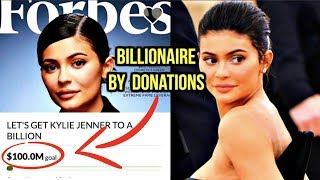 KYLIE JENNER FANS DONATE TO MAKE HER A BILLIONAIRE?!