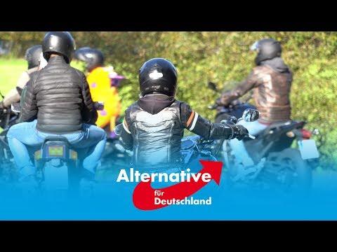 ++AfD++ IDD vor Ort - Wenn Motorradfahrer mahnen...