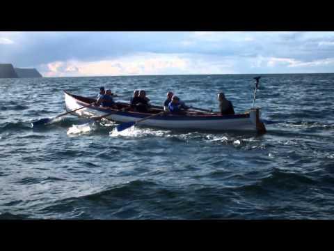 Whitby Pilot Gig Sea Trials