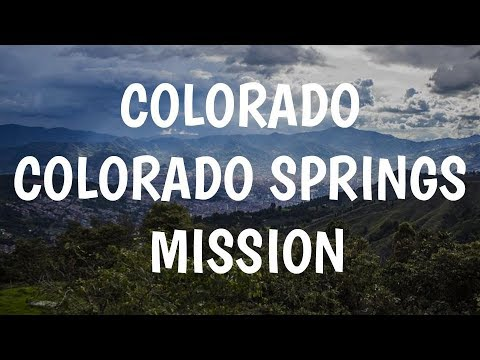 Colorado Colorado Springs Mission