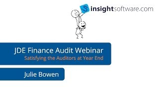 JDE Webinar: Satisfying the Financial Auditors