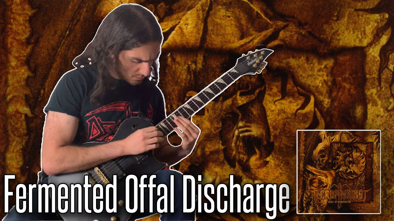 Necrophagist - Fermented Offal Discharge Solo Cover   Namra