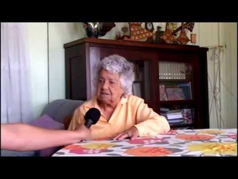 PROFESSORA SARA FURQUIM - EM ENTREVISTA AO JORNAL DA MANCHETE CONTA A HISTORIA DA CIDADE