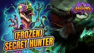 He Played How Many Frost Novas?!? This is Ridiculous!| Secret Hunter| Rise of Shadows | Hearthstone