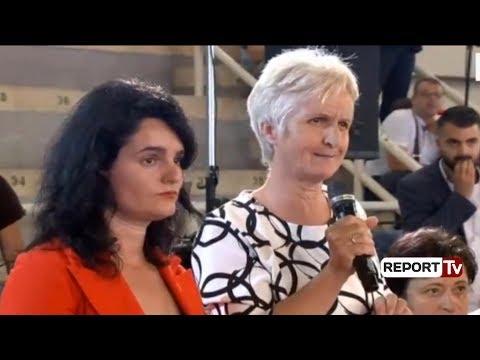 Report TV - Nëna që u përplas me bodigardët e Metës, sot iu ankua Ramës