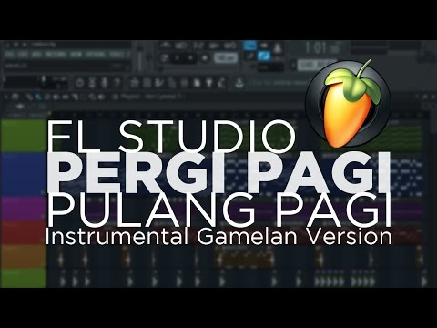 PERGI PAGI PULANG PAGI (ARMADA) - FL Studio (Instrumental Gamelan Version)