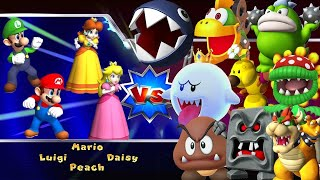 Mario Party 9 & 10 - All Bosses