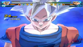[TAS] DBZ BT3 SHAF Goku MUI Survival Mode (All Star) 50 KOs (Enhanced Red Potara Vs Semi Red Potara)