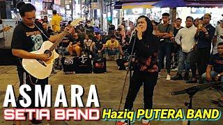 ASMARA - Setia Band | Bob minta Haziq nyanyi satu lagi lagu. Fuh! Meleleh awek dengar ni beb