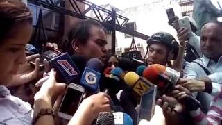 Carlos Correa, Dir. Espacio Público, declara sobre reunión con director de Conatel