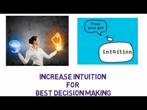 Increase Intuition for Best Decision Making, Binaural Beats with Subliminal Mess