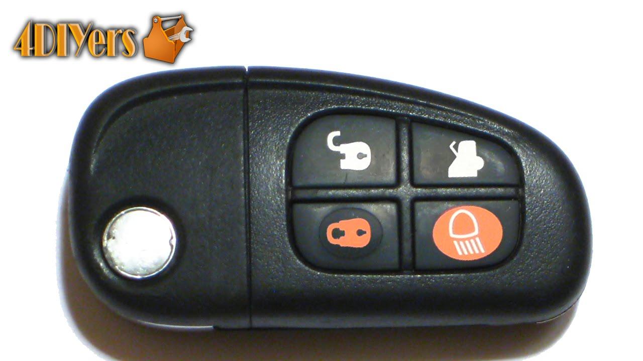 Diy Jaguar Key Fob Battery Replacement