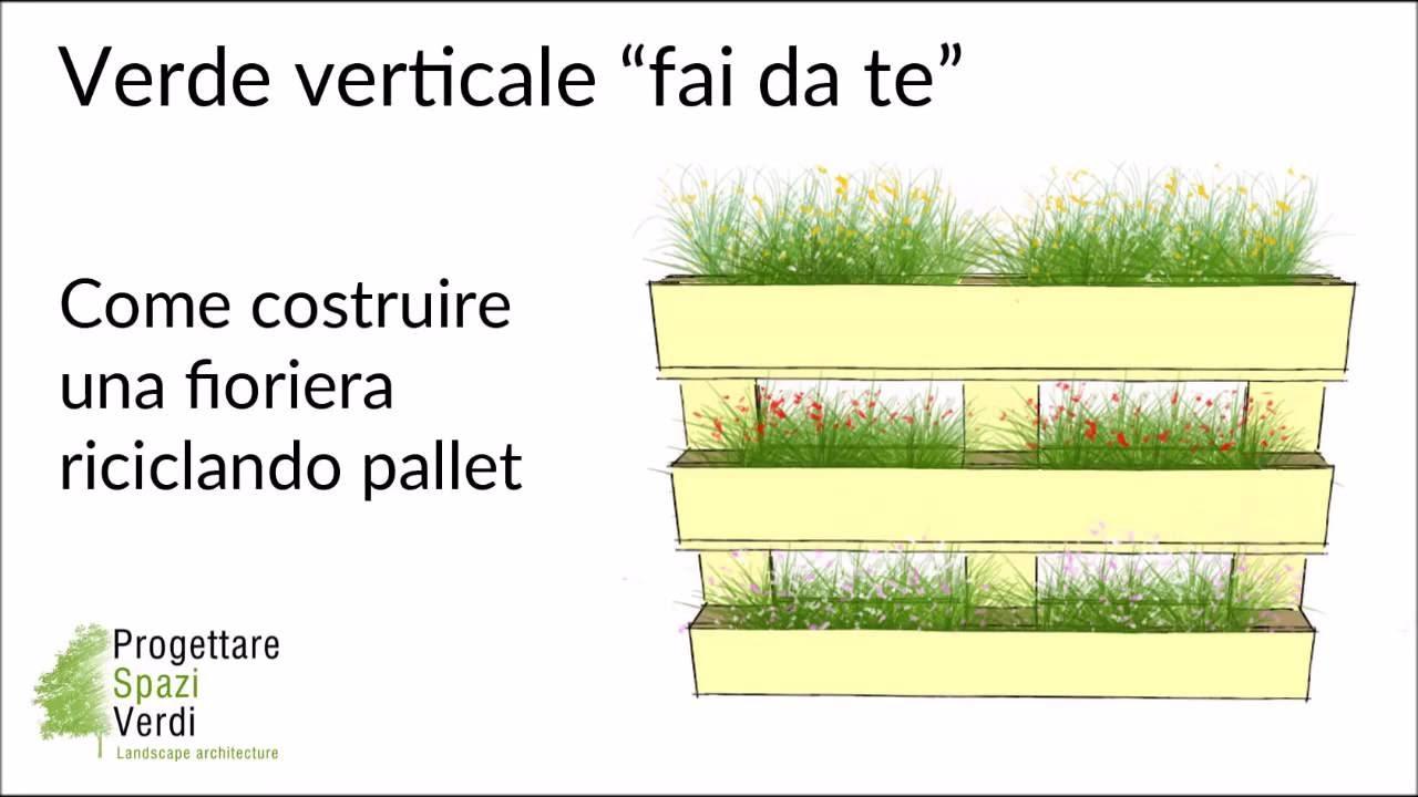 Tutorial pallet fai da te come costruire una fioriera for Case facili da costruire