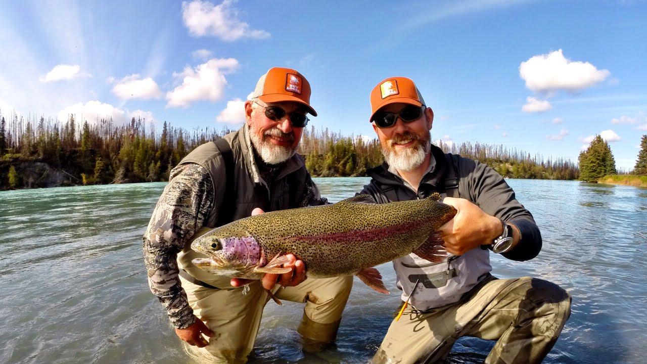 Рыбалка на аляске юкон