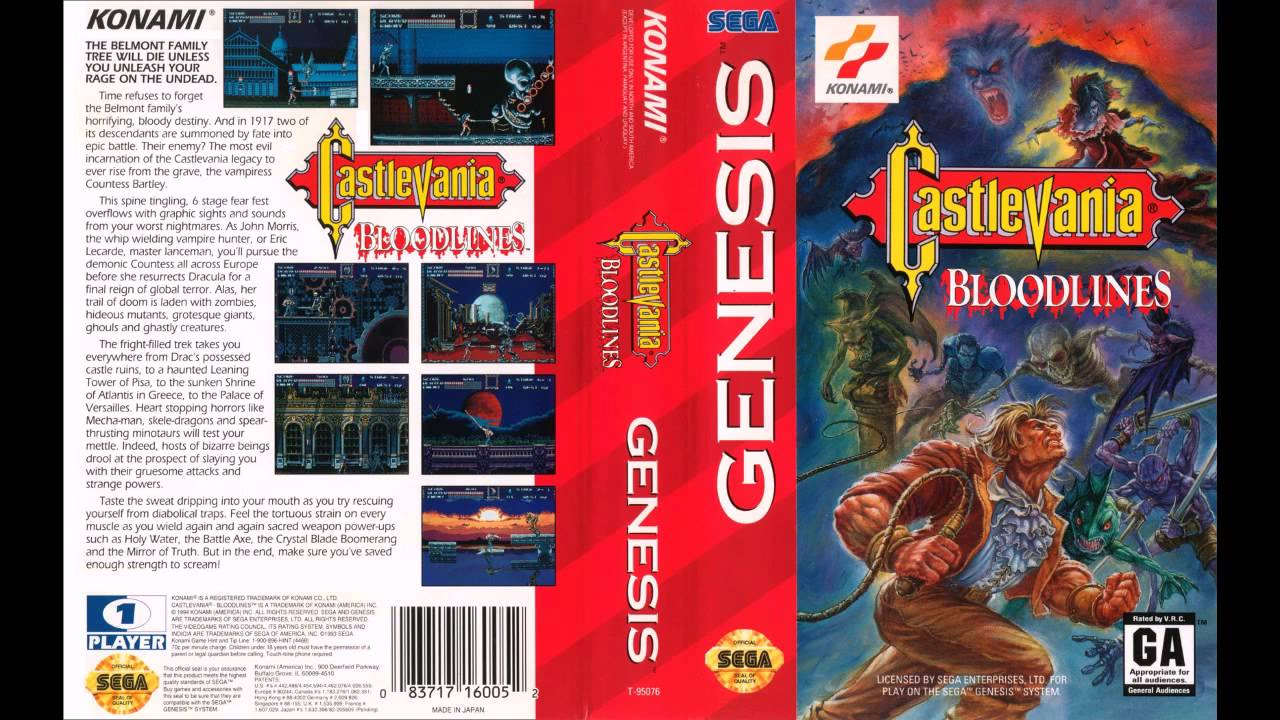 [SEGA Genesis Music] Castlevania Bloodlines - Full Original Soundtrack OST