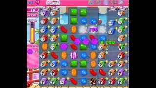 How to beat Candy Crush Saga Level 374 - 3 Stars - No Boosters - 706,620pts