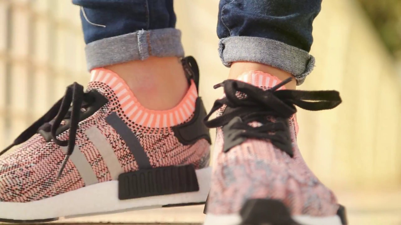 7eac1f678 Adidas NMD R1 PK for girls. - YouTube
