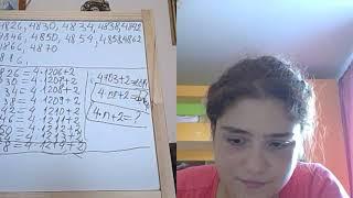 Lectia 1872 - Maria - Teorema impartirii cu rest - Antrenament de vacanta - Clasa 4