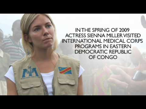 Sienna Miller in Eastern Democratic Republic of Congo