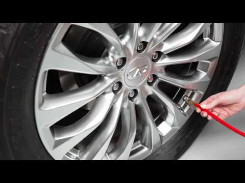 2017 INFINITI QX80 - Tire Pressure Monitoring System (TPMS) with Tire Inflation Indicator