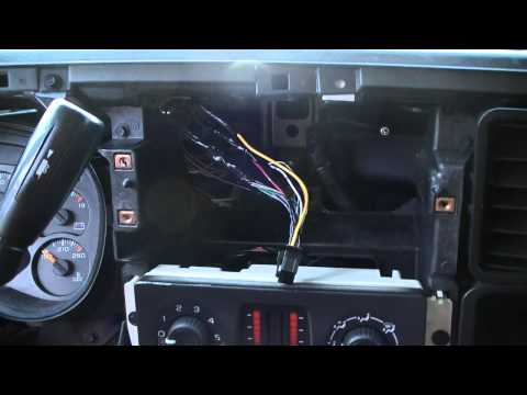 how to install a car stereo in a 2006 silverado part 1. Black Bedroom Furniture Sets. Home Design Ideas